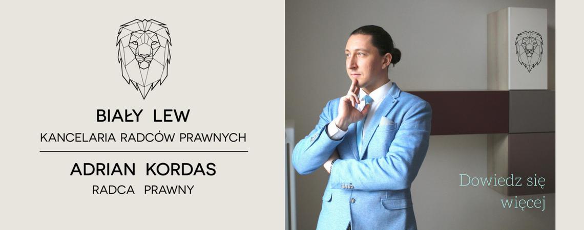 Adrian Kordas radca prawny, Biały Lew Kancelaria Radców Prawnych w Sopocie